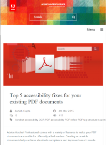Top 5 accessibility fixes for PDFs